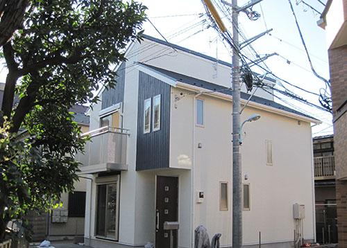 東京都目黒区五本木 完成イメージ