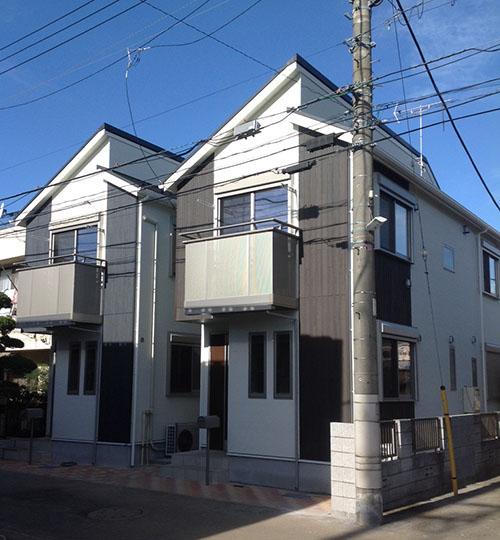 東京都中野区松が丘 完成イメージ